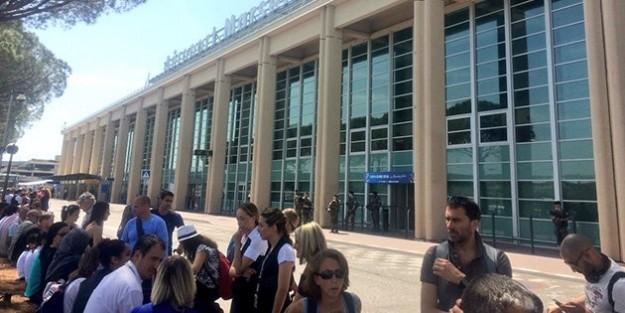 Marsilya Havalimanı tahliye edildi