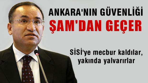 Bekir Bozdağ: Ankara'nın güvenliği Şam'dan ayrı düşünülemez