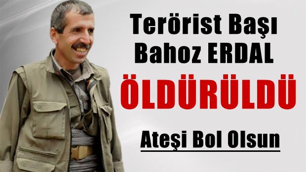 Terörist başı Bahoz Erdal'ın Aracı havaya uçuruldu