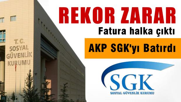 SGK Zarar Rekoru Kırdı; Zenginin Borcunu Fakir Ödedi
