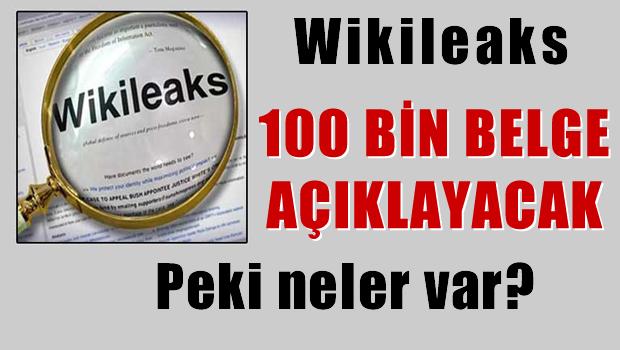 Wikileaks, Türkiye'yle ilgili 100 bin belge açıklayacak