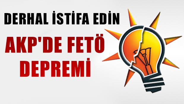 AKP'de FETÖ Depremi