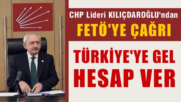 Gülen'e çağrı : Türkiye'ye gel hesap ver!