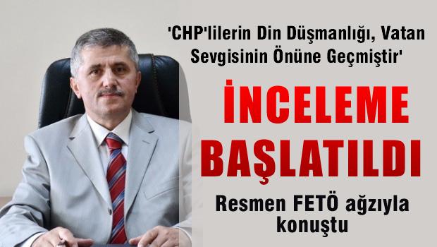 CHP mitingini eleştiren müdür incelemeye alındı