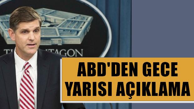 T�rkiye PYD ve I��D'i vurdu! ABD'den a��klama var