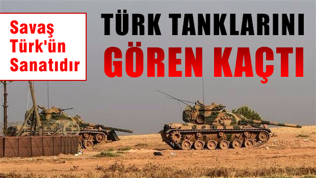 T�rk tanklar� Suriye topraklar�na girdi!