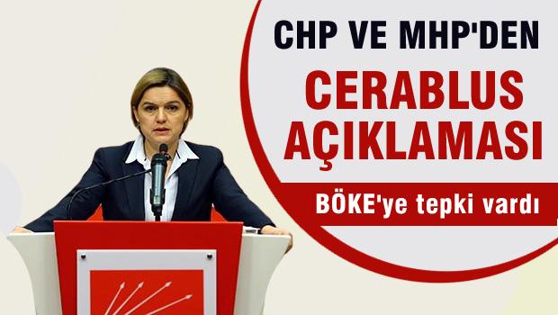 CHP ve MHP'den Cerablus operasyonu a��klamas�