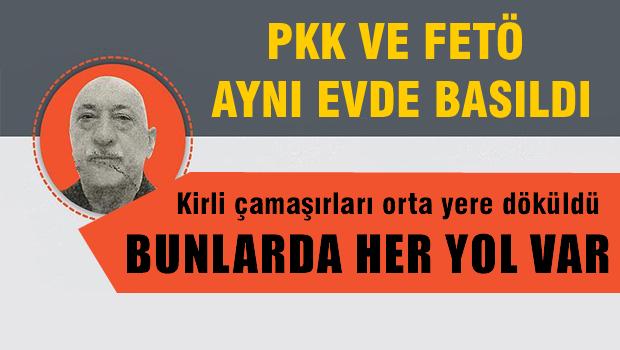 PKK'l�lar ve FET�'c�ler ayn� evde yakaland�