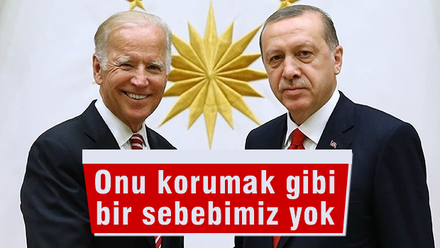 Cumhurba�kan� Erdo�an-Biden g�r��mesi sona erdi