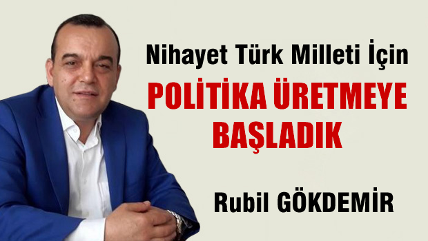 Nihayet Türk Milleti İçin Politika Üretmeye Başladık..!
