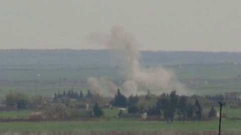 TSK, PYD birliklerini vurdu!