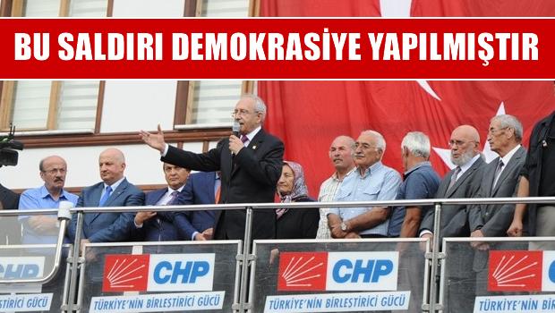 Kılıçdaroğlu: Beni en çok üzen şey şehidimizin olması