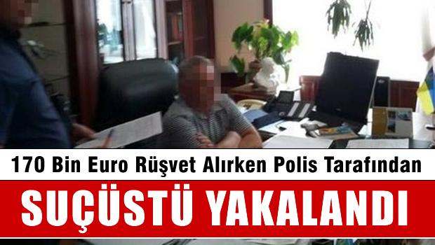 Rektörün 170 bin euroluk rüşvetine suçüstü!