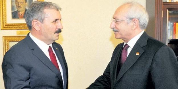 Destici, Kılıçdaroğlu'nu ziyaret etti
