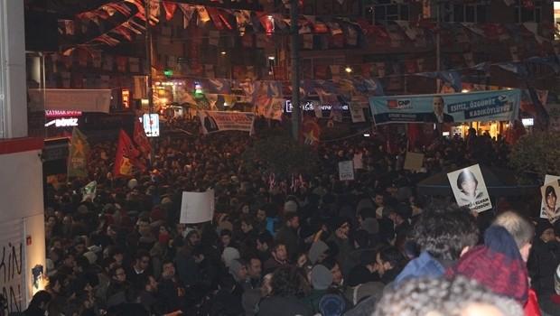 Kadıköy karıştı, Polis müdahale etti
