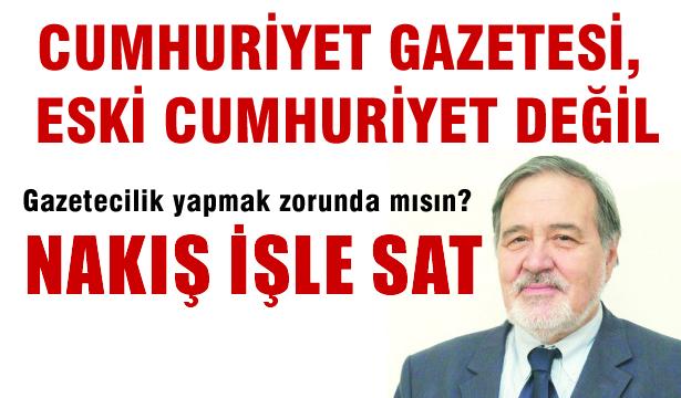 İlber Ortaylı Cumhuriyet Gazetesine verdi veriştirdi