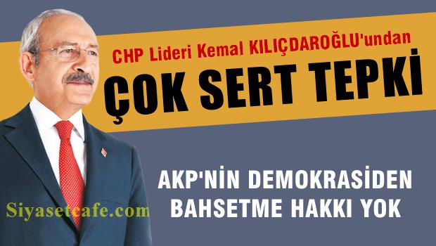 Kılıçdaroğlu'ndan, yazar, gazeteci ve aydınların tutuklanmasına tepki