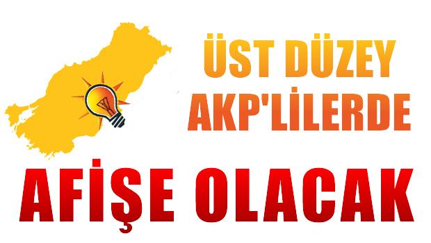 'Üst düzey AKP'liler de afişe olacak'