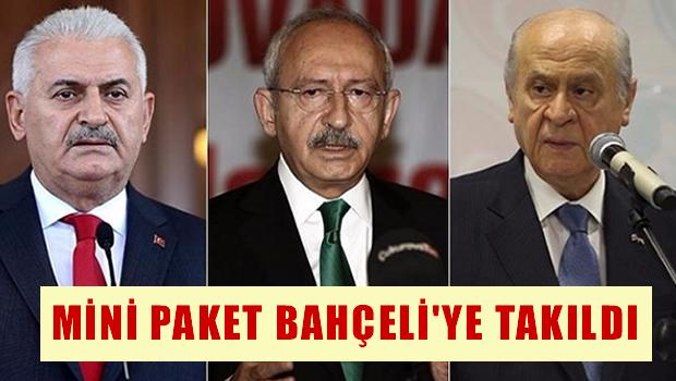 Mini Anayasa Paketi Bahçeli'ye Takıldı