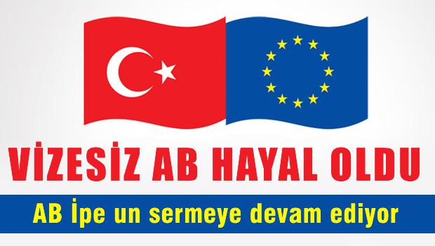 AB'den vize serbestisi için Türkiye'ye 7 kriter