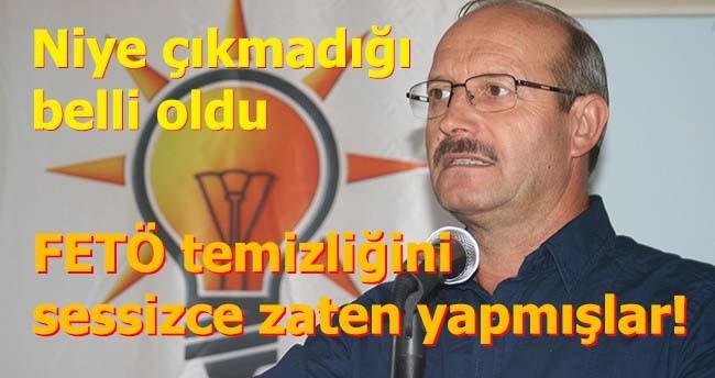 AK Parti FETÖ temizliğini sessizce yapmış!