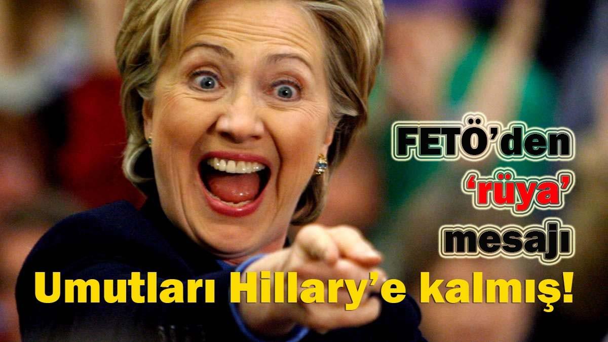 Umutlar� Hillary'e kalm��!