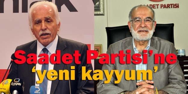Saadet Partisi'ne 'yeni kayyum'!