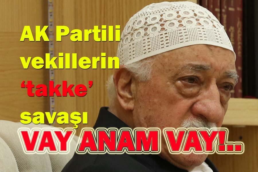 AK Partili vekillerin 'takke' sava��
