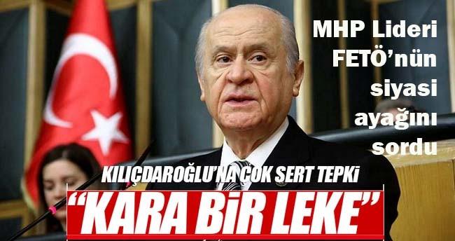 MHP Lideri Bahçeli, Kılıçdaroğlu ve FETÖ'nün siyasi ayağına yüklendi