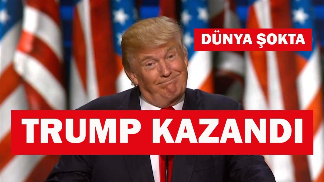 TRUMP KAZANDI
