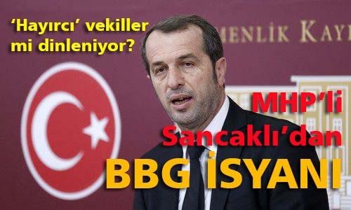 MHP'de 'hayırcı' vekiller mi dinleniyor?