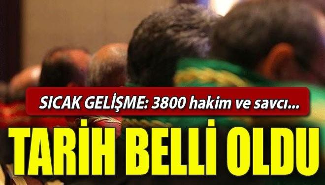 3800 Hakim ve Savcı alınacak