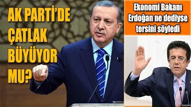 Ekonomik Bakanı Zeybekçi, Erdoğan ne dediyse tersini söyledi
