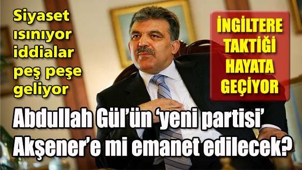 Abdullah Gül'ün 'yeni' partisi Akşener'e mi emanet edilecek?