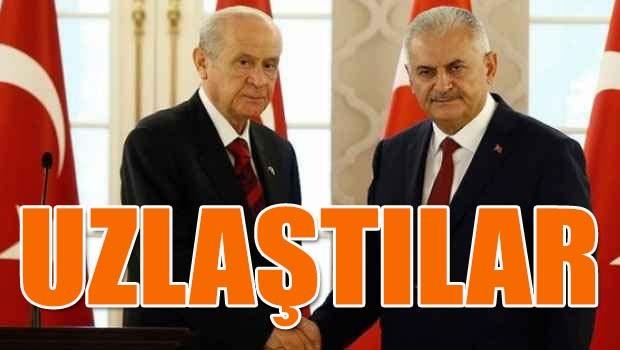 AK Parti ve MHP uzlaştı
