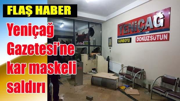 Yeniçağ'a 'kar maskeli' saldırı