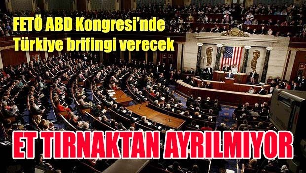 FETÖ ABD Kongresi'nde