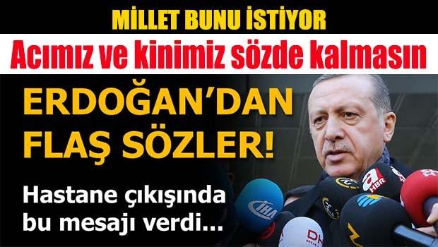 Erdoğan, 'Ağır bedeller ödeyecekler'
