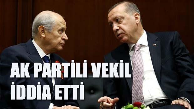 AK Partili vekilden şok iddia