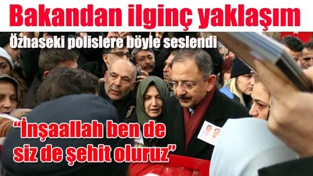 Çevre Bakanı Özhaseki'den ilginç 'şehit' yaklaşımı