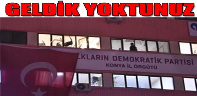 HDP binasını yerle bir ettiler