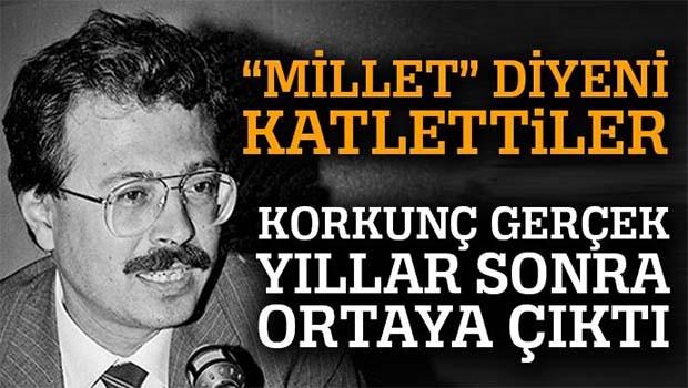 Burhan Özfatura'dan gündem yaratacak iddialar, 'Hepsinin arkasında ABD var'
