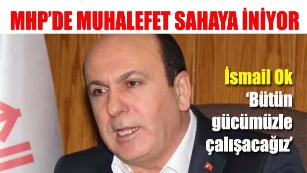 MHP'de muhalefet sahaya iniyor