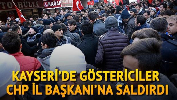 CHP İl Başkanına Saldırı
