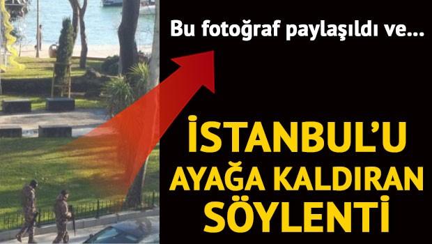 İstanbul'da terör söylentisi
