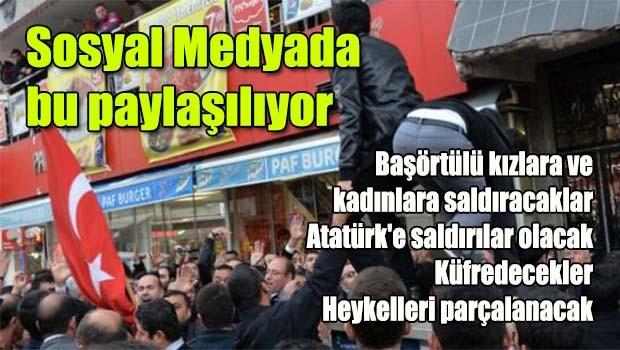 Sosyal medyada bu paylaşılıyor, 'Türkiye Uyuma'