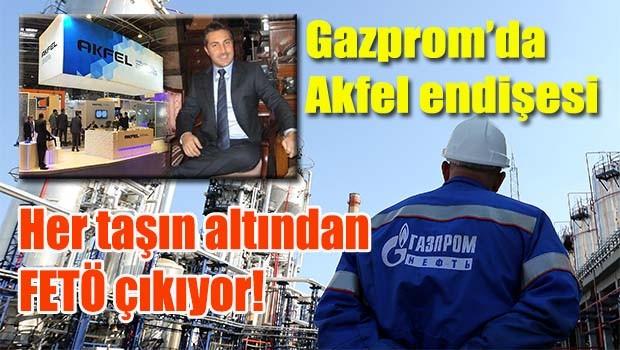 Gazprom'da Akfel endişesi