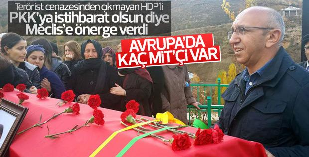 HDP'li Önlü, Yıldırım'a Avrupa'da kaç MİT görevlisinin bulunduğunu sordu