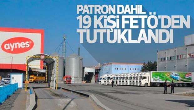 Süt firmasının sahibi FETÖ'den tutuklandı