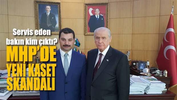 MHP'de yeni kaset skandalı!